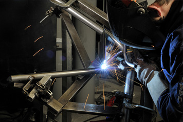 Steel Fabrication Shop Livonia MI - Van Buren Steel - welding